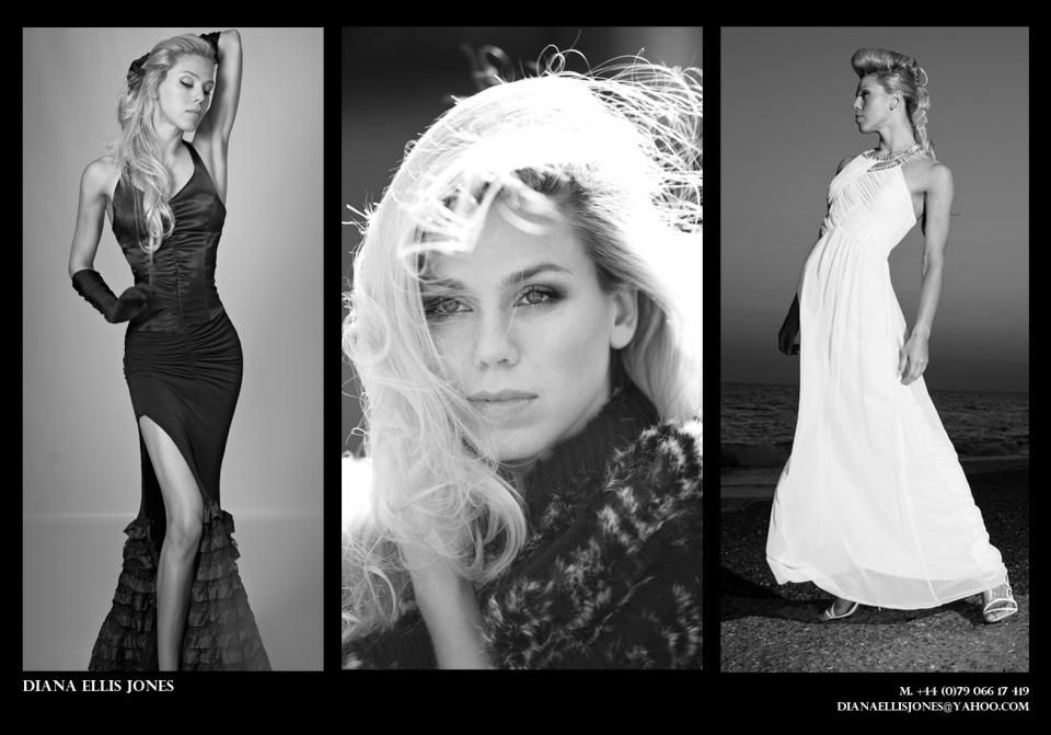 Diana Ellis Jones - Editorial modeling
