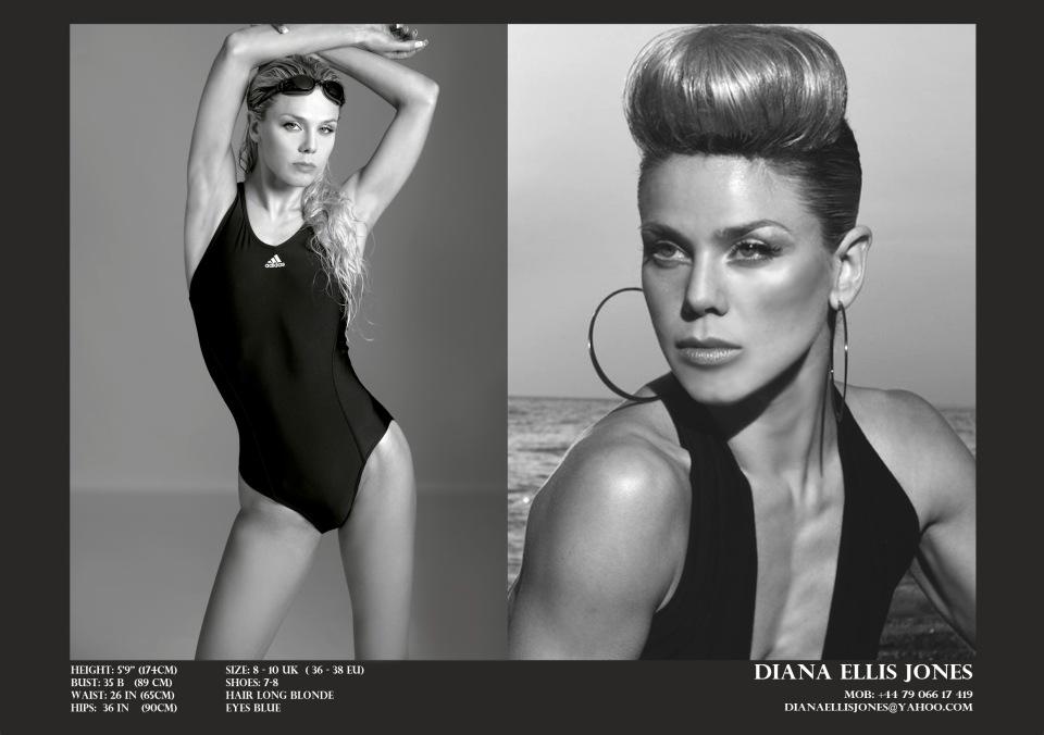 Diana Ellis Jones - Swimwear Modeling