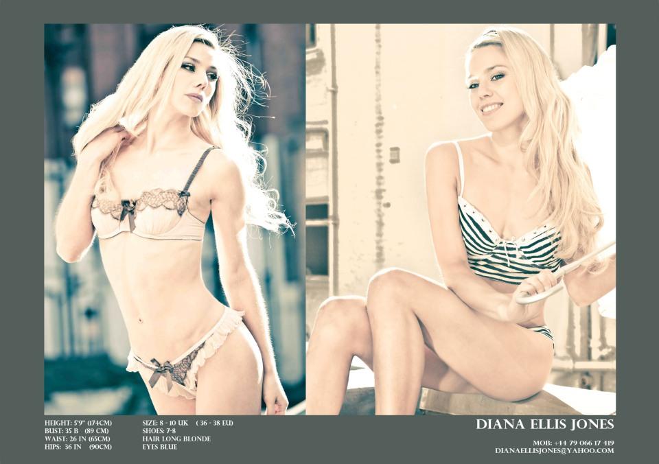 Diana Ellis Jones - Lingerie Modeling