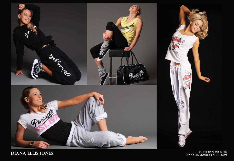 Diana Ellis Jones - Pineapple Dance Fashion