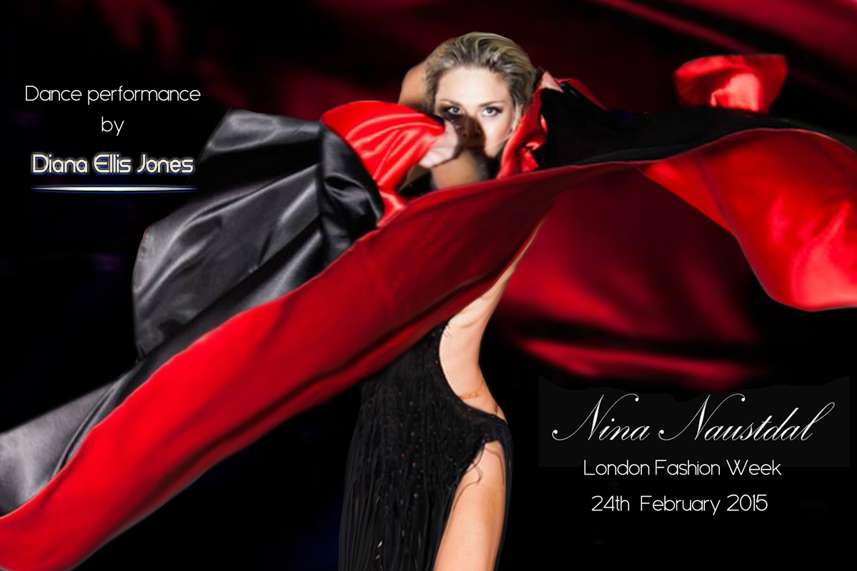 Diana Ellis Jones_Dance Show for Nina Naustdal_Poster