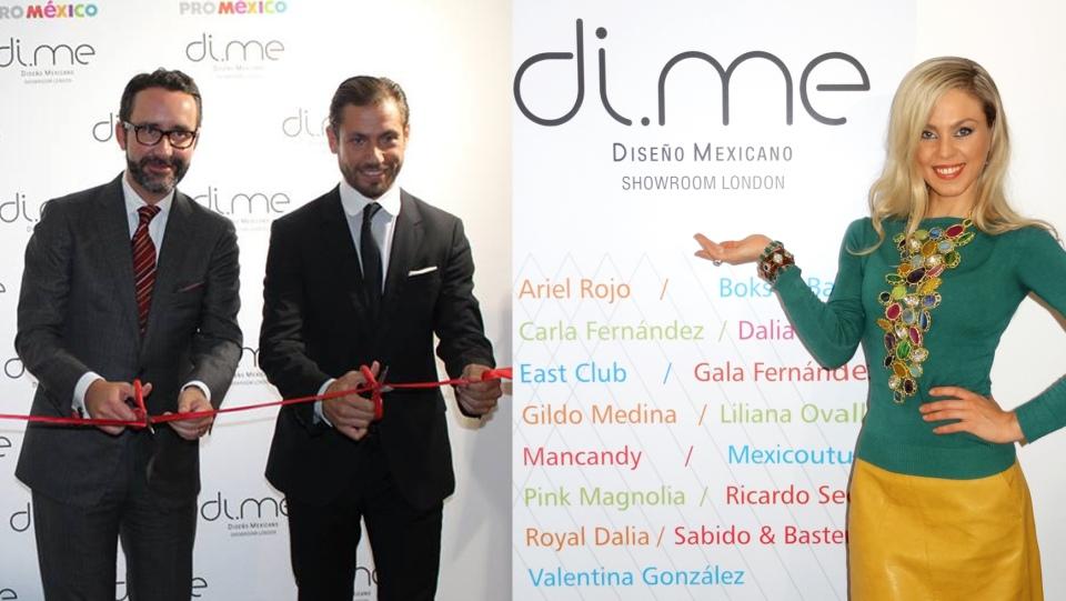 Mexican Ambassador - H.E. Diego Gómez Pickering - Mario González Alvarez - Diana Ellis Jones